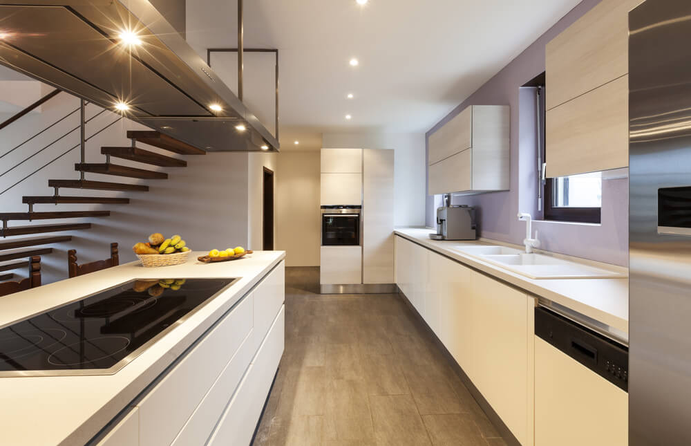 kitchen interior lighting