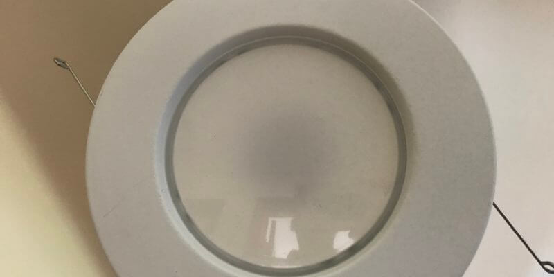 LED recessed light trim