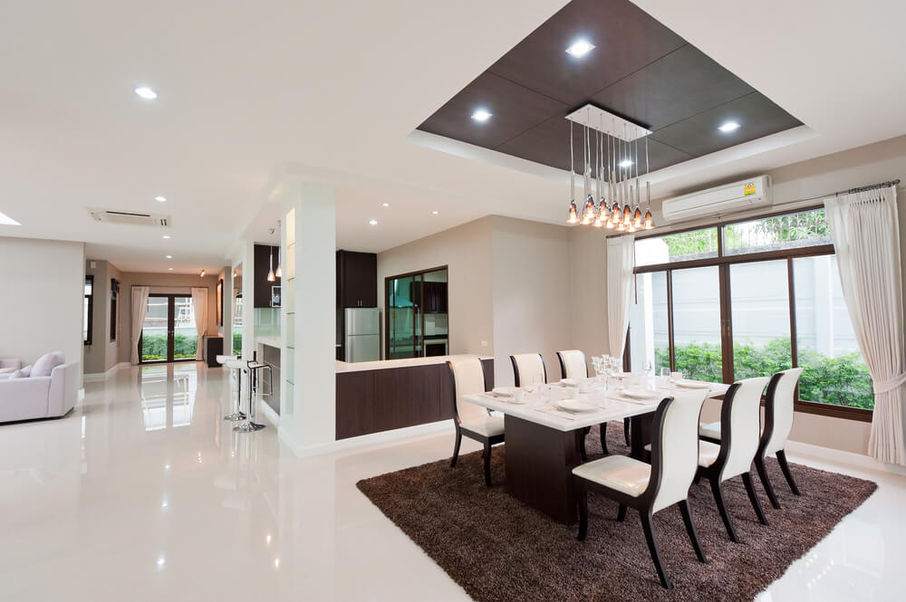 dining room interior lighting