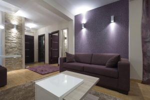 living room interior lighting