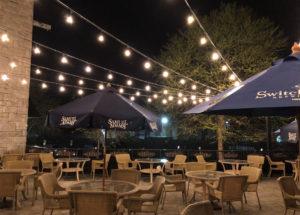 restaurant outdoor lighting